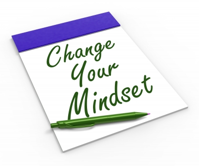 image: book cover saying 'change your mindset'