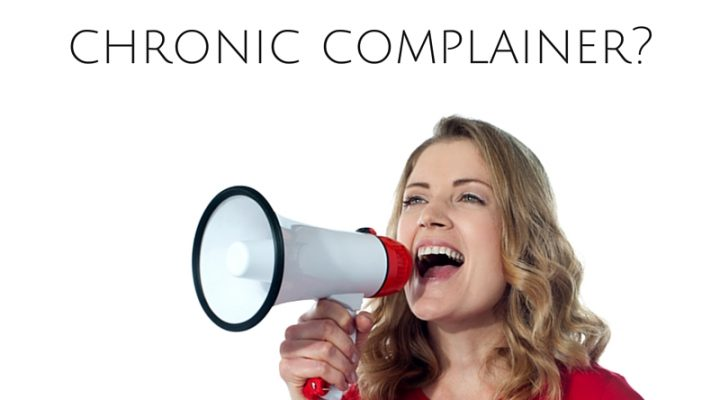 Are you a Positive Influencer or a Chronic Complainer? Choose wisely.