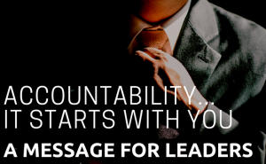 Leadership & accountability