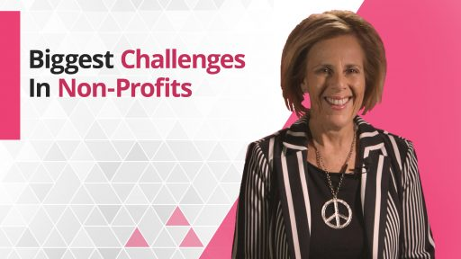 Graphic title for Biggest challenges in Non-Profits
