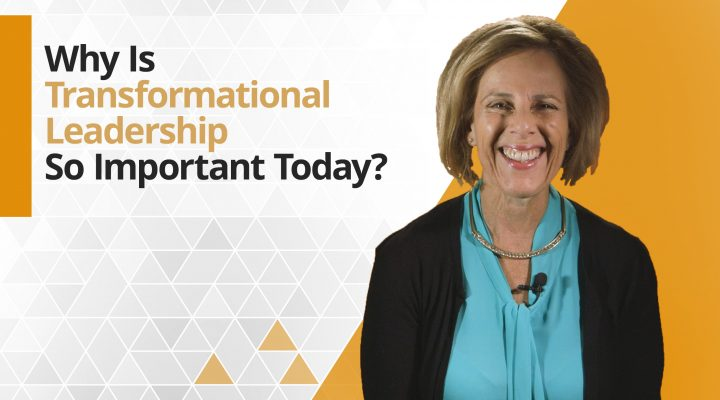 Graphic title for Why is transformational leadership so important today?