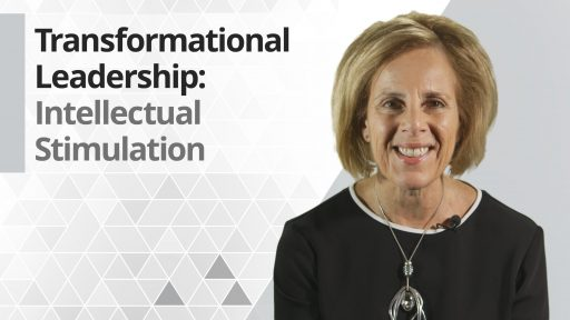 Graphic title for Transformational Leadership: Intellectual Stimulation
