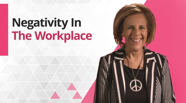 Graphic title for Negativity in the Workplace
