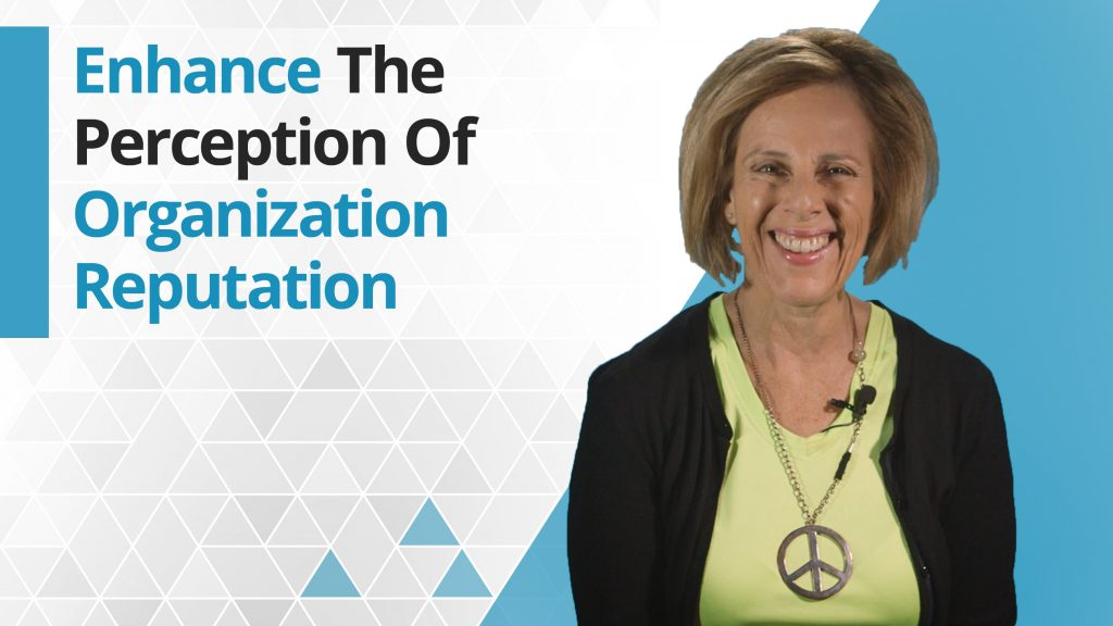 Graphic title for How to Enhance the Perception of Your Organization's Reputation
