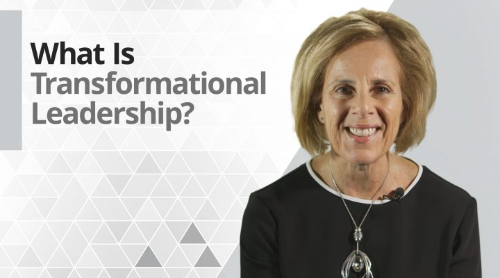 Graphic title for What is Transformational Leadership?